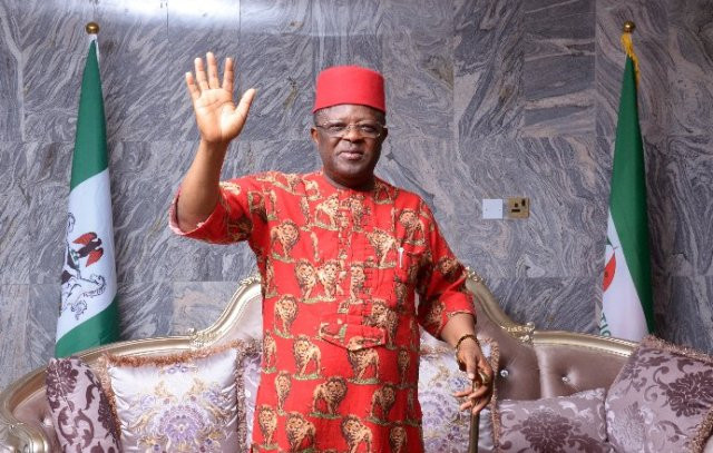 Ebonyi State Dave Umahi Officially Defects To APC From PDP