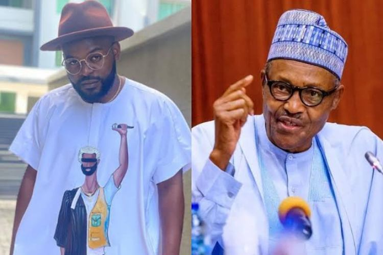'You Know Nothing About Respecting People' – Falz Lambasts Buhari