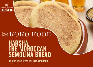 Harsha, The Moroccan Semolina Bread Is Our Food Item For The Weekend