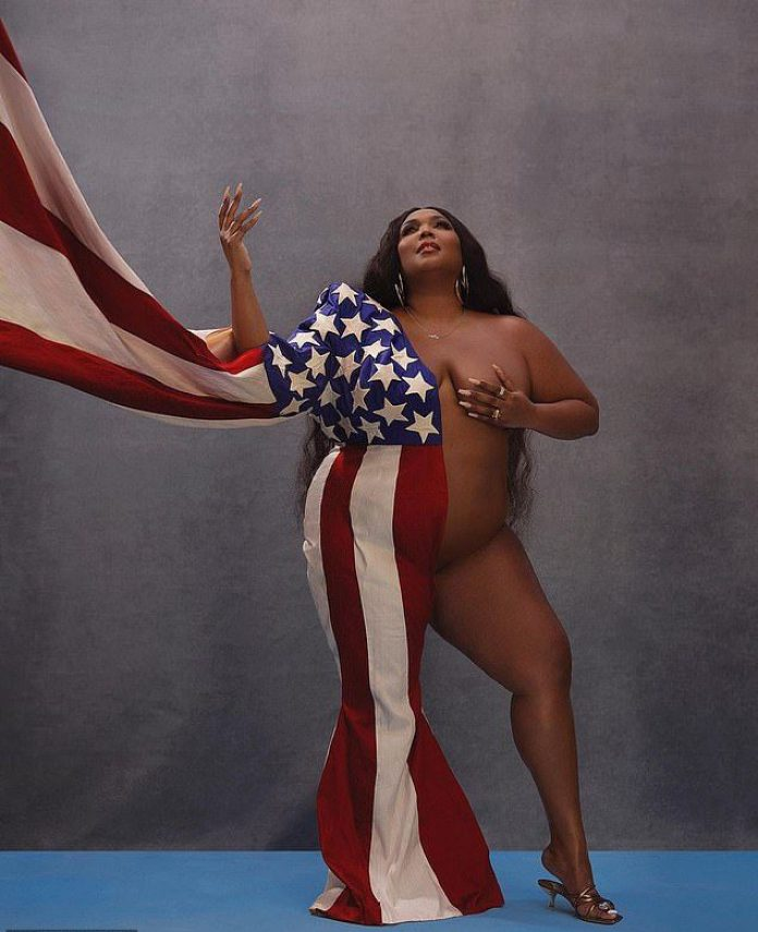 U.S Elections: Lizzo Thanks Fans For Voting By Sharing Nude Photo