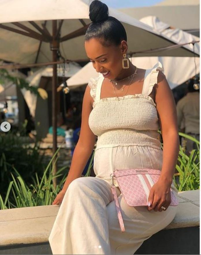 Vourne Kgosinkwe Is The Definition Of A Chic Yummy Mummy