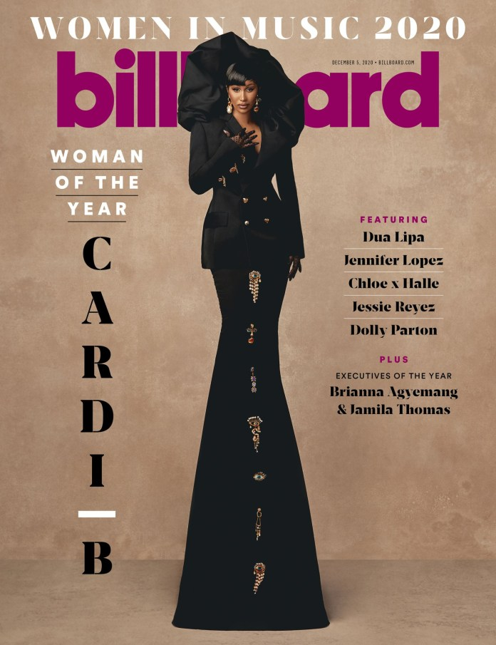 Cardi B Named Billboard's Woman Of The Year