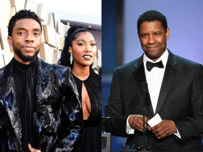 Denzel Washington Shares How Chadwick Boseman's Wife Loved And Watched Over Him