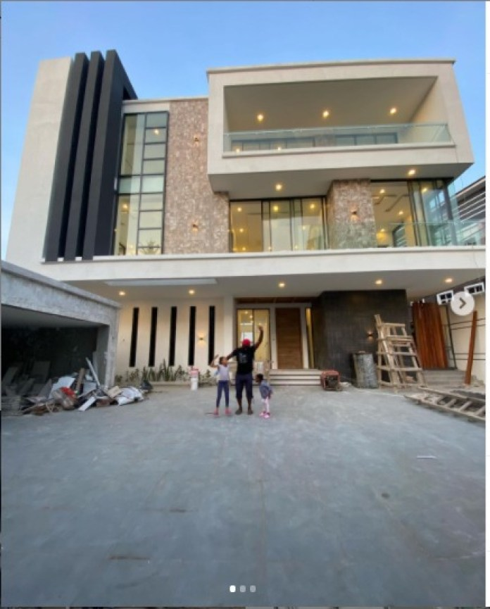 Jude Okoye Shows Off His New Home