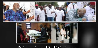 Fainting Is The New Method! Nigerian Politicians Who Have Put Up Drama During Trials