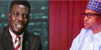 Tope Akinyode and Buhari