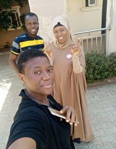 Aisha Yesufu and KOKO Team KOKO TV Nigeria
