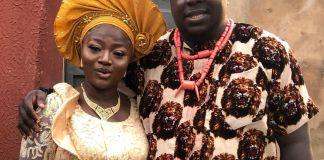 Emeka Okoye and wife