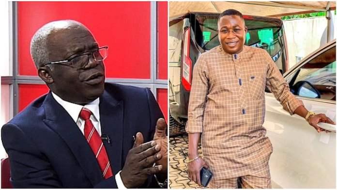 Femi Falana and Sunday Igboho