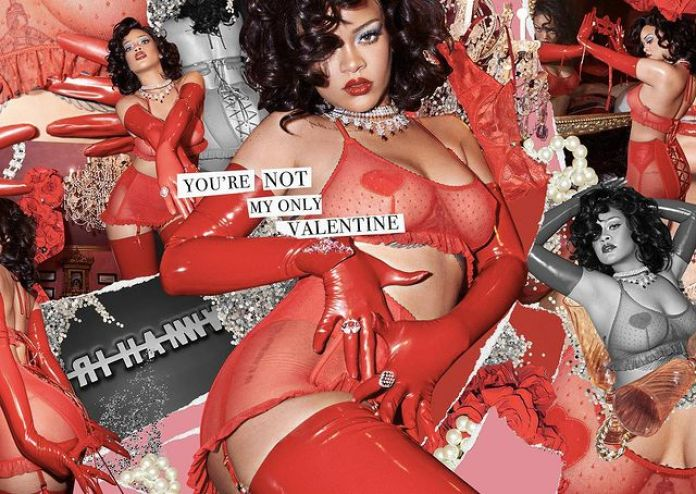 Rihanna Sets Social Media On Fire With New Lingerie Snaps