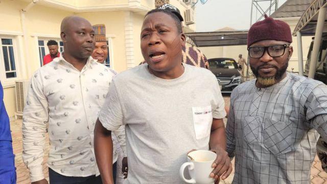 Sunday Igboho and Prof Banji Akintoye
