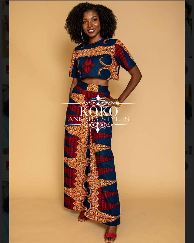 Look Outstanding And Fabulous In These Ankara Styles