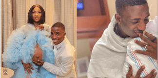 Alesh Ola Sanni welcomes first child with fiancee