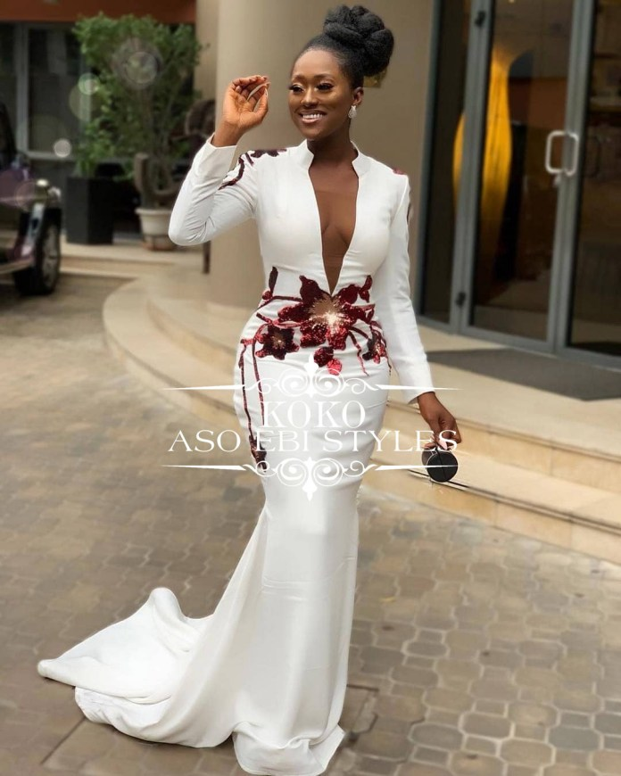 Aso Ebi Evening Mermaid Dresses