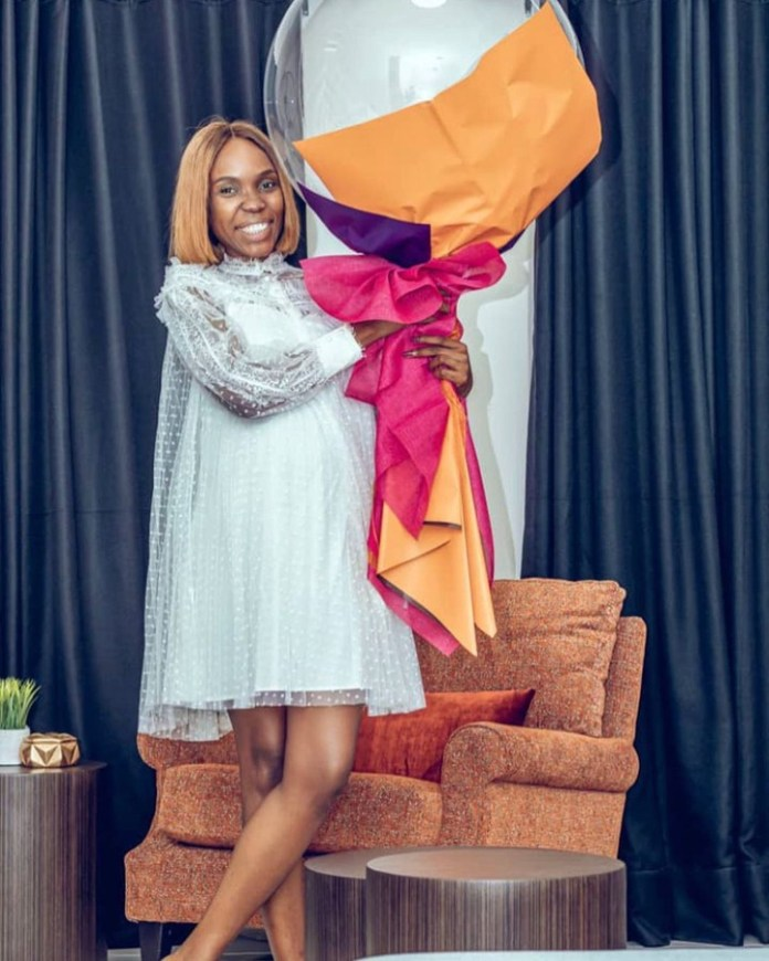 Kemi Lala Akindoju Shares More Maternity Photos With Fans As She Documents Her Pregnancy Journey