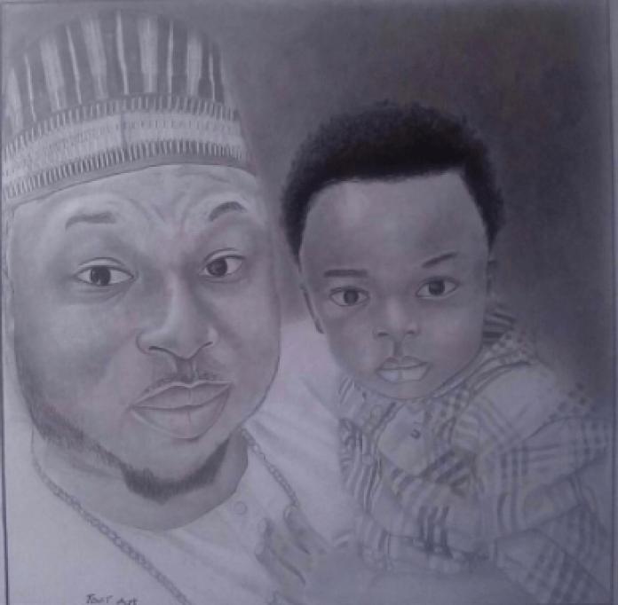Olakunle Churchill Celebrates Son, King Andre, As He Turns 5