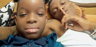 Wizkid's Son Boluwatife Set To Release A Song