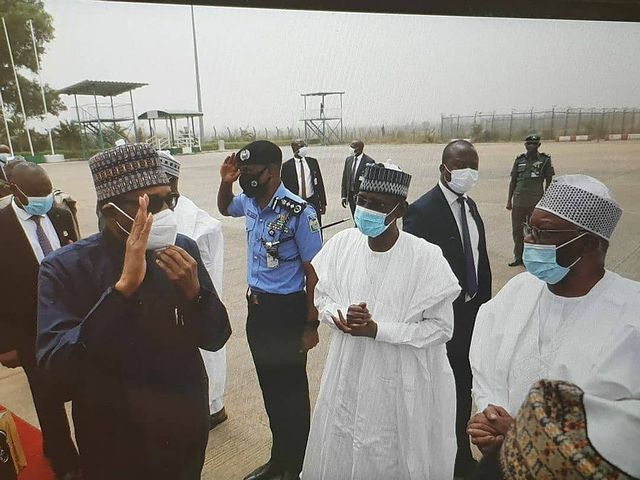 President Buhari Finally Departs For London For Medical Check-up