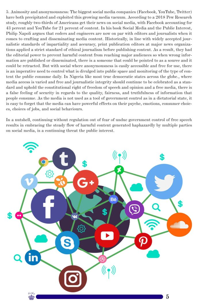 Social Media Regulation: The Pros And Cons