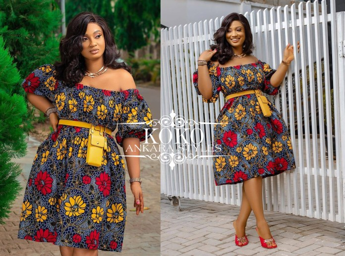 Serve Glam And Poise With These Elegant Ankara Styles