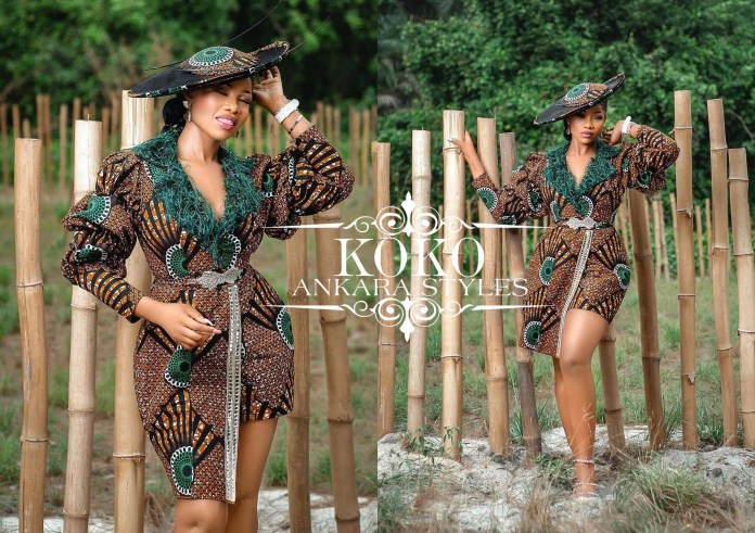 End The Month Enchantingly With These Sizzling Hot Ankara Styles