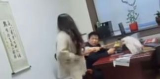 Chinese Lady Zhou, Beats Up Her Boss For Assaulting Her Sexually Assaulting Her And Other Female Staff