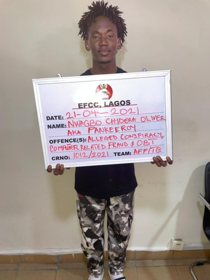 EFCC Arrests Instagram Comedian Pankeeroy Others For Bitcoin Scam