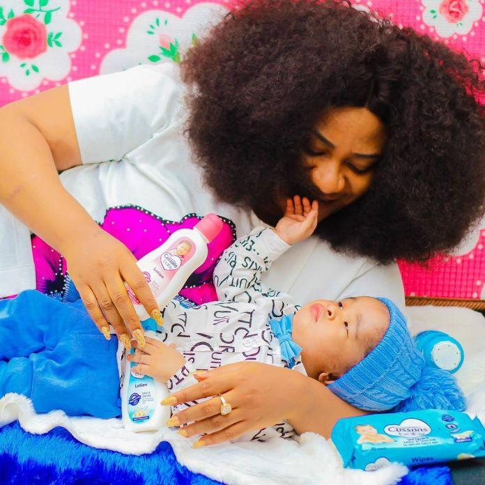 Nkechi Blessing's son Elijah Success