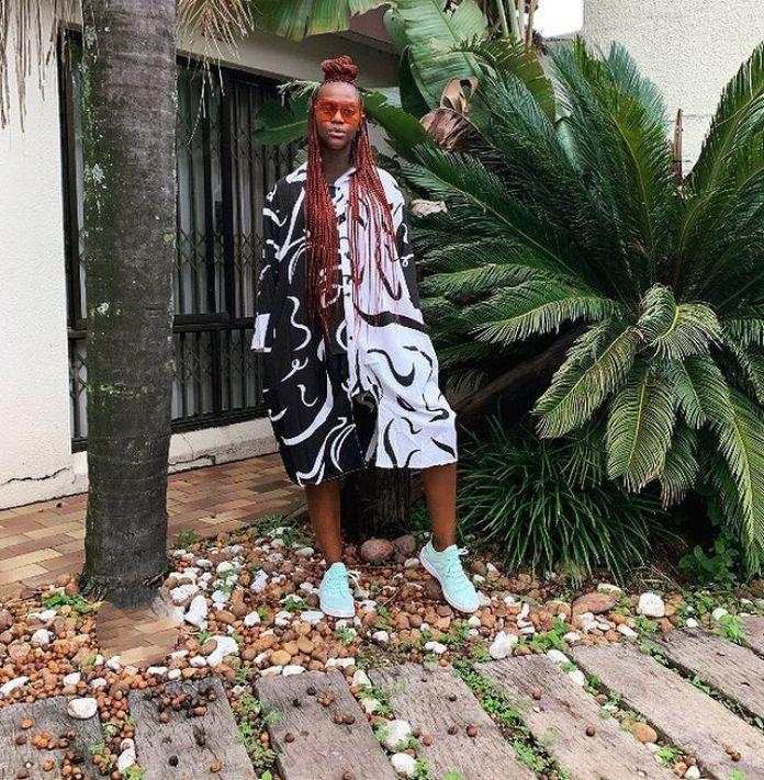 Sibu Jili Is Serving Classic Pregnancy Fashion