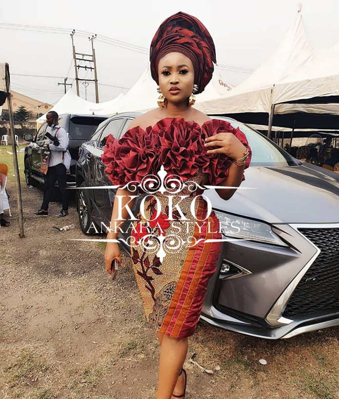 Scream African Royalty In These African-Themed Ankara Styles