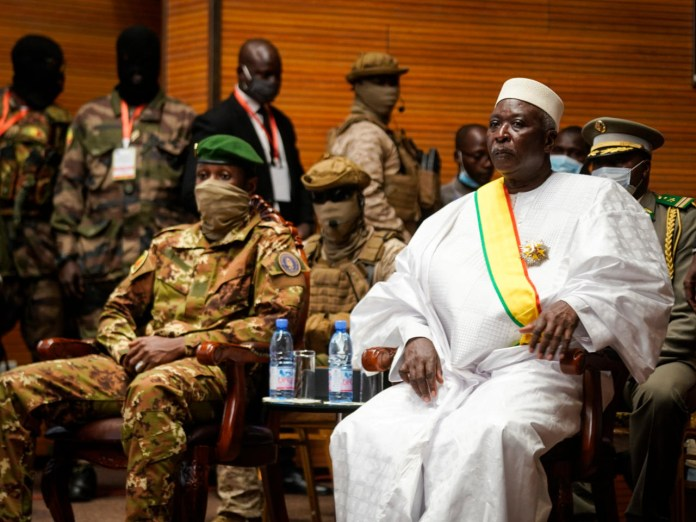 Mali Coup, president Bah Ndaw and Moctar Ouane resigns