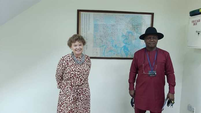Catriona Laing in Rivers State