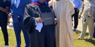 Davido's Uncle Ademola Adeleke Graduates From US University