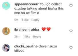 IG users slam Etinosa over IPOB violence statements KOKO TV Nigeria 1