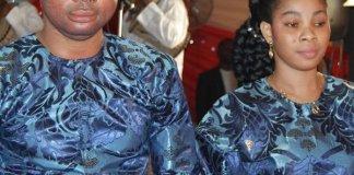 Prophet Ajanaku and wife Joy