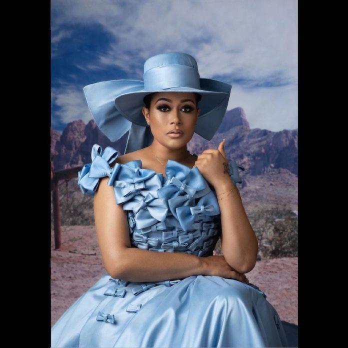 Adunni Ade in Southern belle theme birthday shoot KOKO TV NG