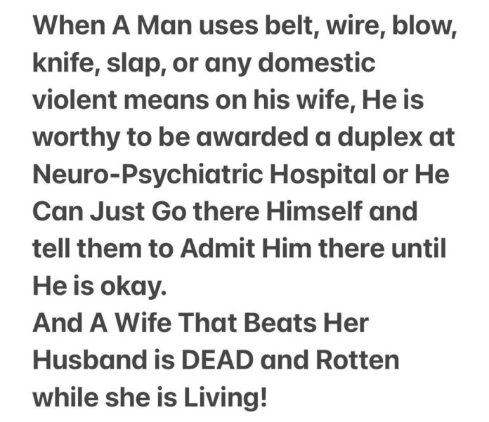 A Man That Beats His Wife Should Be Admitted At Aro - Mike Bamiloye