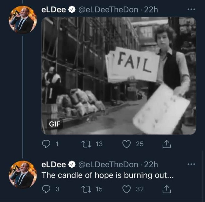 Rapper Eldee Speaks On IPOB