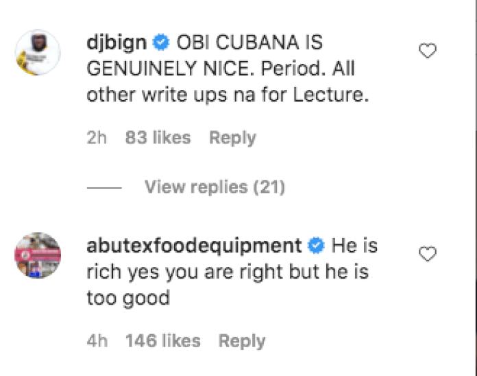 """""""Obi Cubana Is A Good Person"""", DJBigN, Funny Bone, Others Reply Dr PenKing"""