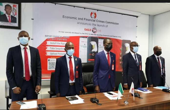 EFCC Launches WhistleBlowing App, Eagle Eye, To Eliminate Face-To-Face Reporting