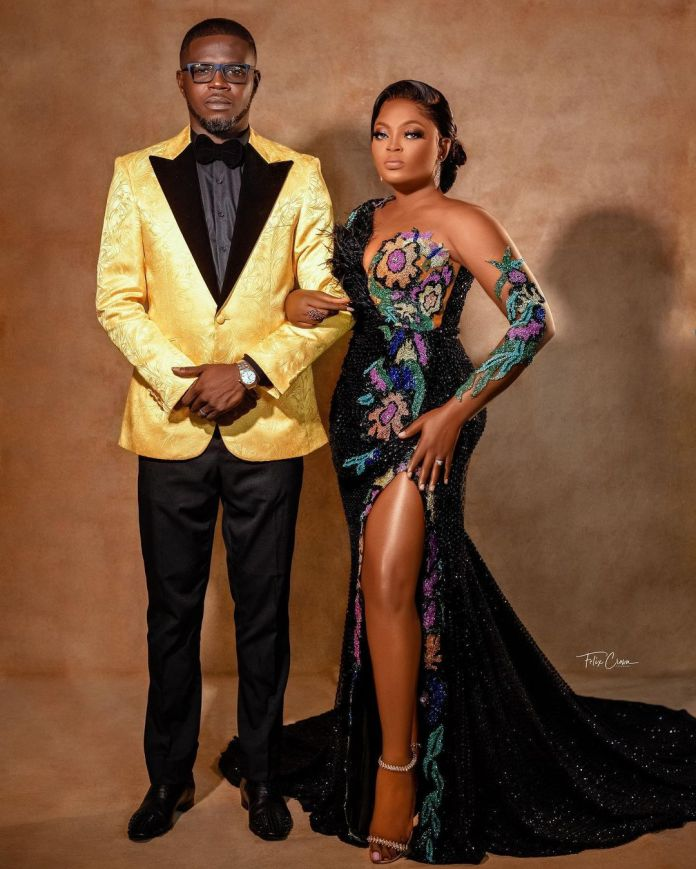 You Inspire Me To Reach For Perfection - JJC Skillz Serenades Funke Akindele on 5th Anniversary