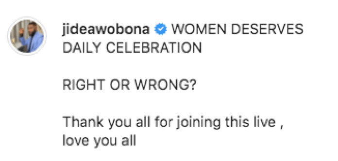 Why Thew World Has Problems With Women - Jide Awobona