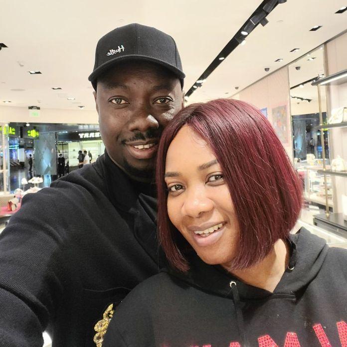 Obi Cubana and wife Ebere