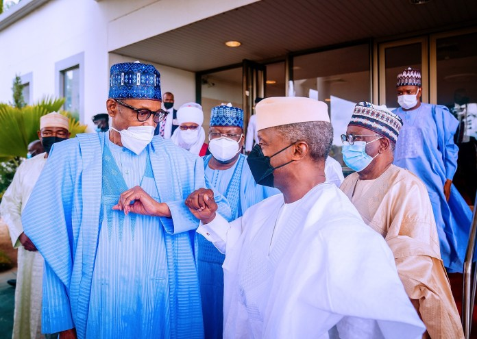 President Buhari and Vice President Osinbajo
