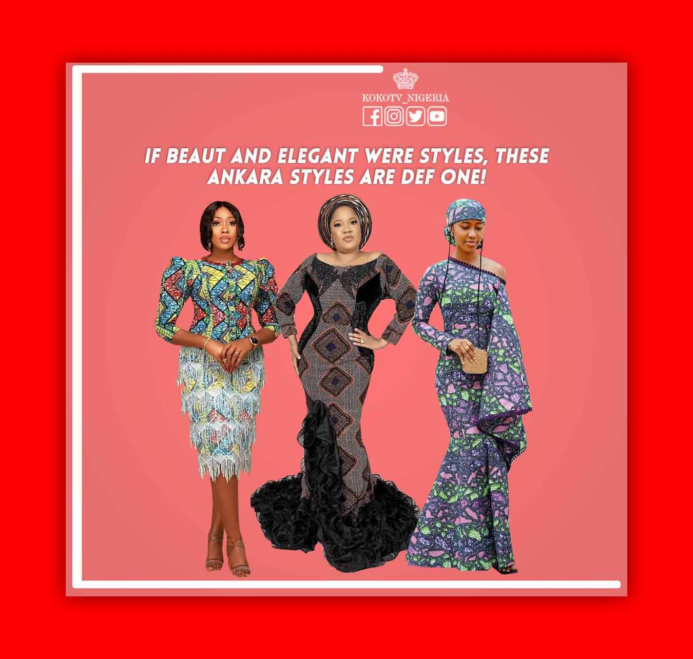 If Beaut And Elegant Were Styles, These Ankara Styles Are Def One
