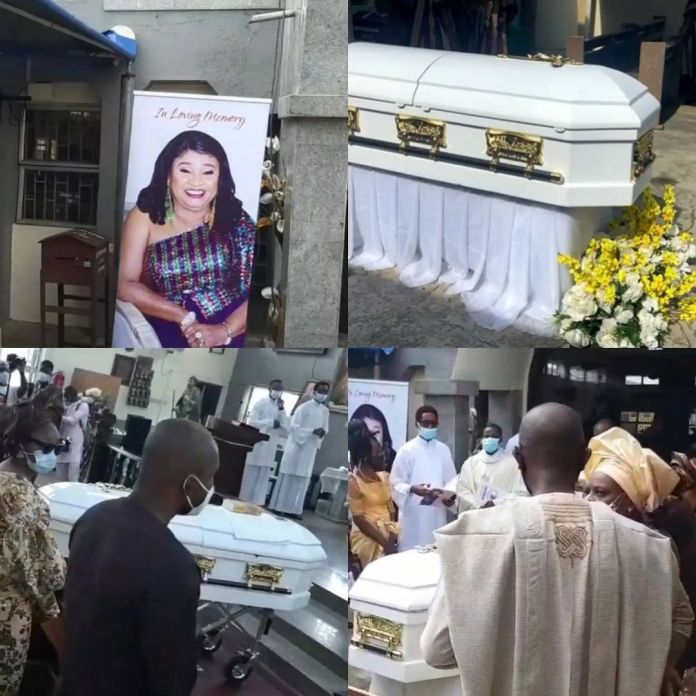 Rachel Oniga's Body Arrives Church For Funeral Service And Lying To Rest
