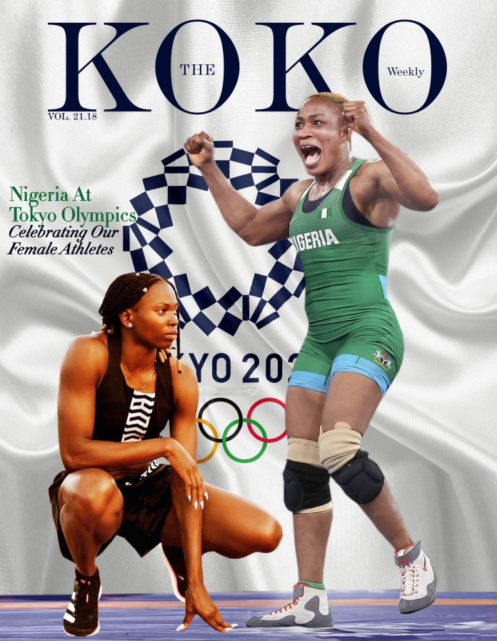 KOKO Weekly Magazine: Nigeria At  Tokyo Olympics