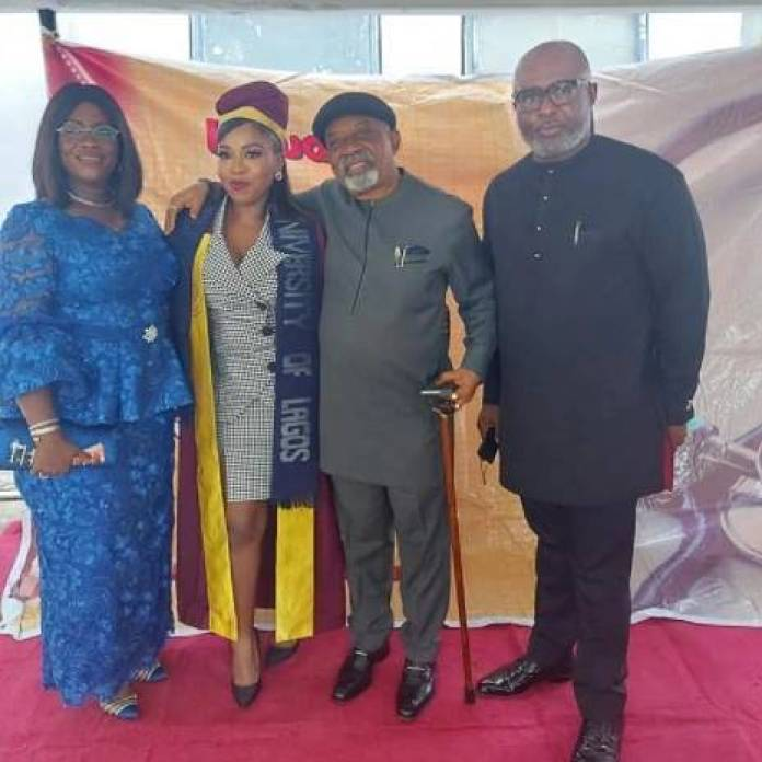 Chris Ngige's Daughter Inducted As A Medical Doctor At Lagos University Teaching Hospital