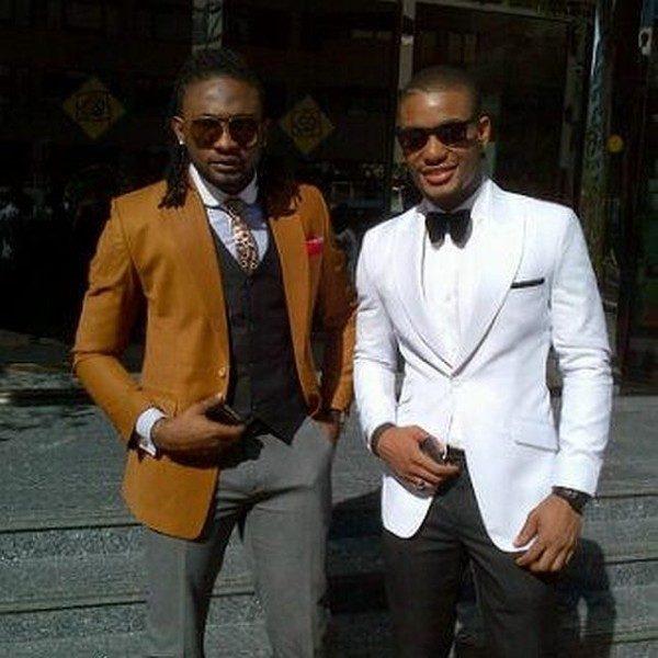 Alexx Ekubo and Uti Nwachukwu