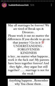 We Are Tired Of Breakups And Divorces Huddah Monroe KOKOTVNG